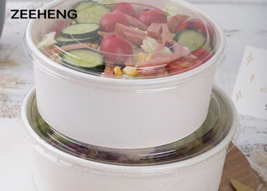 250ml - 1500ml Large Disposable Salad Bowls Eco - Friendly Food Grade